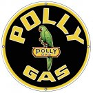 POLLY ROUND METAL STEEL SIGN