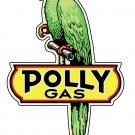 POLLY GAS METAL STEEL SIGN