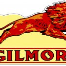 GILMORE LEAPING LION METAL SIGN