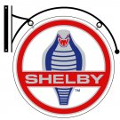 SHELBY DOUBLE SIDED DISK METAL SIGN BRACKET