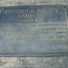 SOMERSET & DORSET COMPANY RULES SIGN CAST IRON