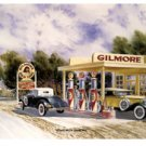 ROAR WITH GILMORE RETRO METAL SIGN