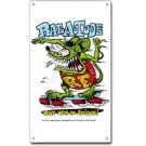 RAT FINK RAT-A-TUDE METAL SIGN