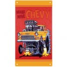 RAT FINK MAKE MINE CHEVY METAL SIGN