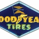 "GOODYEAR TIRES 53.75"" x 30.5"" NEON SIGN"