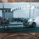 BONNEVILLE PRUDHOMME BURNOUT LARGE HEAVY STEEL SIGN