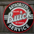 BUICK AUTHORIZED SERVICE TIN SIGN 24""