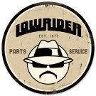 LOWRIDER PARTS SERVICE METAL SIGN 24 GAUGE