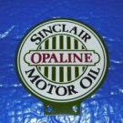 SINCLAIR OPALINE MOTOR OIL LUBESTER DOUBLE SIDED SIGN