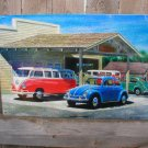 JACK SCHMITT VW SERVICE CENTER HEAVY STEEL SIGN