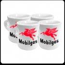 MOBILGAS COFFEE MUGS ONE SET FOUR