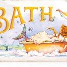 MERMAID BATH HEAVY METAL SIGN