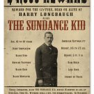 THE SUNDANCE KID OUTLAW HEAVY METAL SIGN