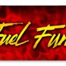 TOP FUEL FUNNY CAR HEAVY METAL SIGN