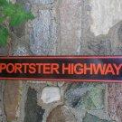 SPORTSTER HIGHWAY TIN SIGN