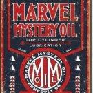 MARVEL MYSTERY OIL TIN SIGN