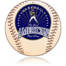 AMERICAN DREAM HEAVY METAL OVAL SIGN