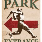 BALL PARK HEAVY METAL SIGN