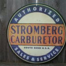 STROMBERG CARBURETOR SALES SERVICE Heavy Metal Sign