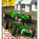 Monaco Grand Prix 1960 HEAVY METAL SIGN