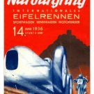 Nurburgring German racing HEAVY METAL SIGN 1936