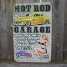HOT ROD GARAGE 1948 FORD Heavy Metal Sign
