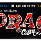 Drag Cartoons heavy metal sign Pete Millar