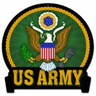 ARMY US Army Insignia HEAVY METAL SIGN