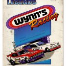 Wynn's Racing NHRA 1995 heavy metal sign