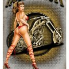 Nothing Butt Choppers heavy metal sign