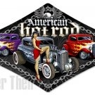 American Hot Rod sexy diamond shaped Heavy Metal Sign