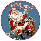 Tis The Season Christmas Heavy Metal Sign