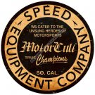 MotorCult Speed Equipment Company Heavy Metal Sign
