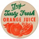 ORANGE JUICE Heavy Metal Sign