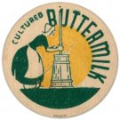 CULTURED BUTTERMILK Heavy Metal Sign