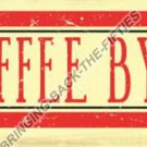 COFFEE BY THE CUP Heavy Metal Sign