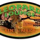 Leopard Lounge HEAVY METAL SIGN
