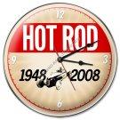 60TH ANNIVERSARY HOT ROD CLOCK