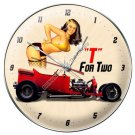 T BUCKET FOR TWO METAL CLOCK