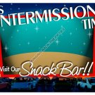 DRIVE IN INTERMISSION TIME HEAVY METAL SIGN