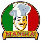 MANGIA HEAVY METAL SIGN