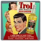 TROL NEW MIRACLE HAIR GROOM HEAVY METAL SIGN