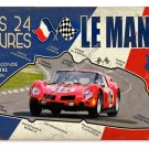 Le Mans 24 Hours HEAVY METAL SIGN