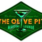The Olive Pit HEAVY METAL SIGN