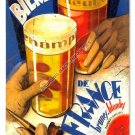 Bieres De France HEAVY METAL SIGN