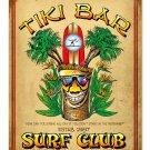 TIKI BAR SURF CLUB HEAVY METAL SIGN