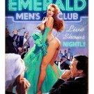 EMERALD EVENING MEN'S CLUB METAL SIGN