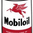 MOBILOIL OIL CAN METAL SIGN PEGASUS