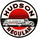 HUDSON REGULAR LARGE ROUND METAL SIGN