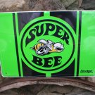 DODGE SUPER BEE METAL SIGN